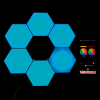 LUCES HEXAGONALES X6